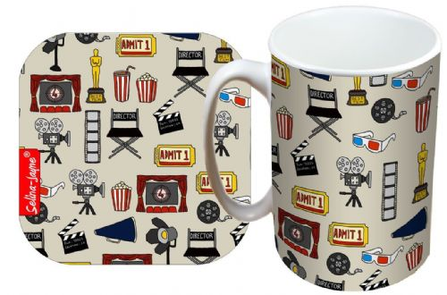 Selina-Jayne Movies Limited Edition Designer Mug and Coaster Gift Set